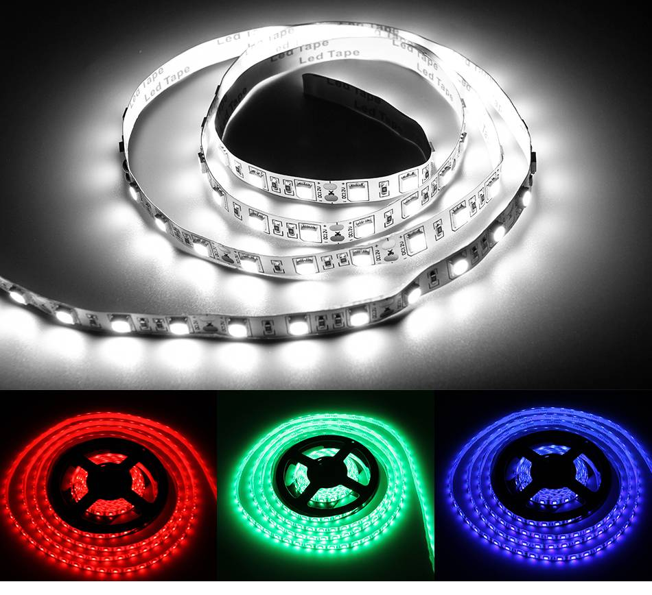 Flexible 5V LED Strip USB Cable