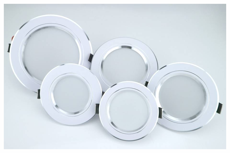 Round Aluminum LED Ceiling Light