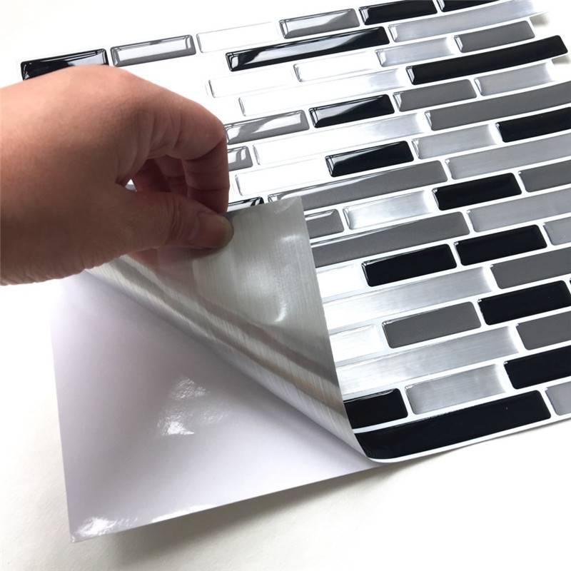 3D Mosaic Vinyl Wall Sticker