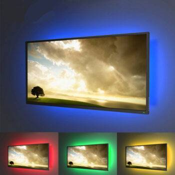 Flexible RGB LED Strip Backlight Home and Garden LED Lighting