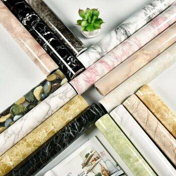 Modern Self Adhesive Patterned Vinyl Wallpaper Home and Garden Home Improvement