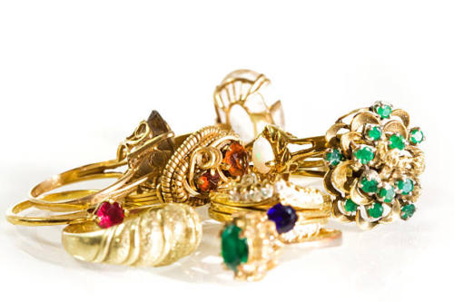 Collection of Vintage Rings